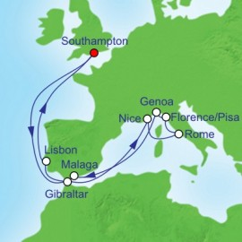 Mediterranean Experience  Itinerary