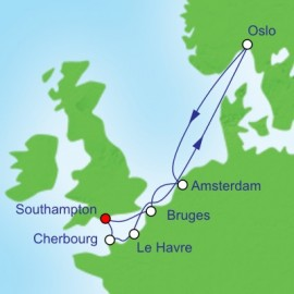 Northern Europe Royal Caribbean Cruise