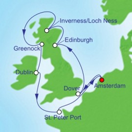 British Isles  Itinerary