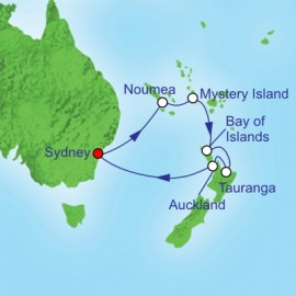 South Pacific and New Zealand Cruise