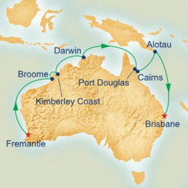 Northern and Western Australia Explore Cruise
