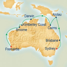 Northern and Western Australia Explorer Itinerary