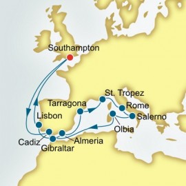 Spain and France and Italy Itinerary