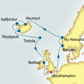 Norway Iceland and Faroe Islands Itinerary