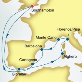 Italy and Spain Itinerary
