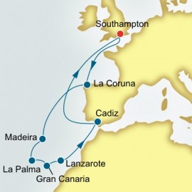 Spain and Canary Islands P&O Cruises UK Cruise
