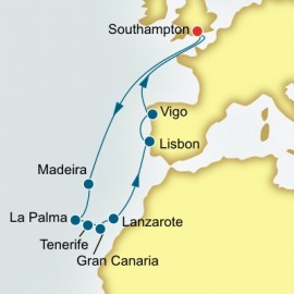 Canary Islands Portugal and Spain P&O Cruises UK Cruise