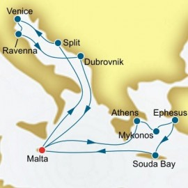 Greece Turkey and Malta Itinerary