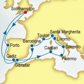 Portugal and Italy and Spain Itinerary