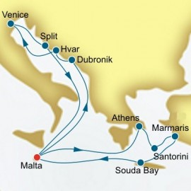 Greece Turkey and Croatia Itinerary