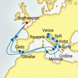 Spain and Italy and Croatia Itinerary
