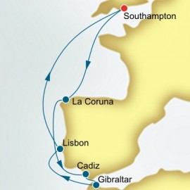 Spain and Portugal P&O Cruises UK Cruise