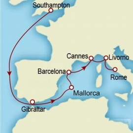 Spain and Italy Itinerary