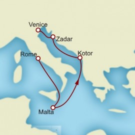 Rome to Venice Itinerary