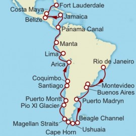 Rio De Janeiro To Fort Lauderdale Itinerary