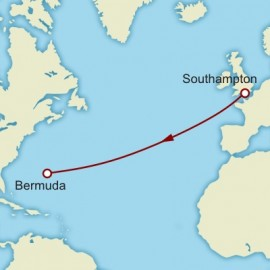 Southampton to Hamburg World Sector Itinerary