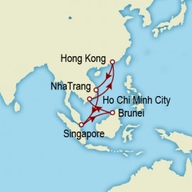 Hong Kong and Southeast Asia Itinerary