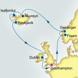 Northern Europe P&O Cruises UK Cruise