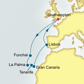 Canary Islands and Portugal Cruise