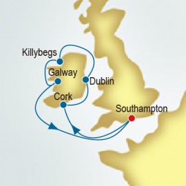 Ireland P&O Cruises UK Cruise