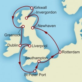 Arts and Literary Tour of the British Isles Cunard Cruise