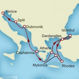 Greek Isles Croatia and Italy Cunard Cruise