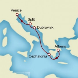Athens Croatia and Venice Itinerary