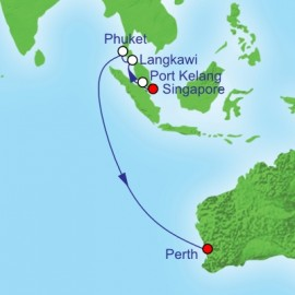 Singapore To Perth Itinerary
