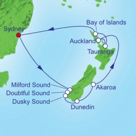 New Zealand Holiday Royal Caribbean Cruise