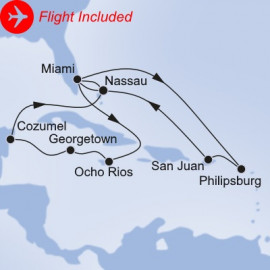Grand Caribbean Itinerary