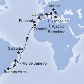 Grand Voyages MSC Cruises Cruise