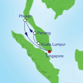 Spice Of Southeast Asia Itinerary