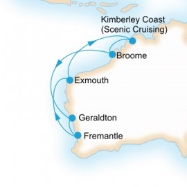 Kimberley Coast Adventure Itinerary