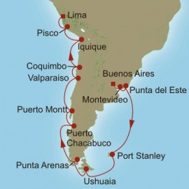 Patagonian Odyssey Itinerary