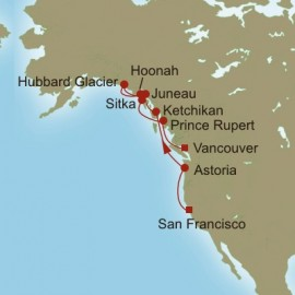 The Great Northwest  Itinerary