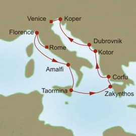 Adriatic Charms  Itinerary