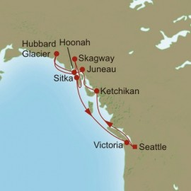 Glacial Adventures  Itinerary
