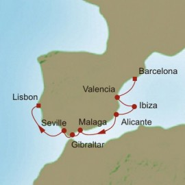 Salute to Spain Itinerary