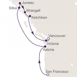 San Francisco to Vancouver Itinerary