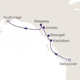 Vancouver to Anchorage Itinerary