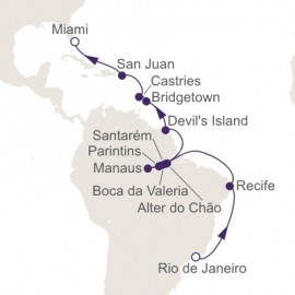 Amazon Jungles and Rainforests Itinerary