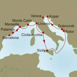 Bridges to Basilicas Oceania Cruises Cruise