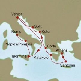 Adriatic Rhapsody Itinerary