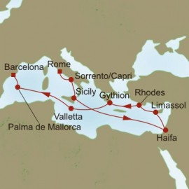 Ancient Footsteps Oceania Cruises Cruise
