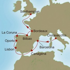Western Europe Escapade Itinerary