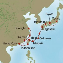 Far East Reflections  Itinerary