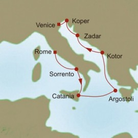 Adriatic Interlude Itinerary