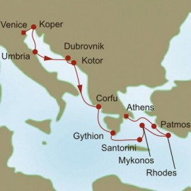 Adriatic and Aegean Allure Itinerary
