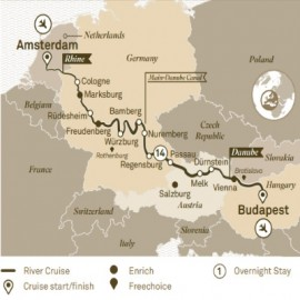 Jewels of Europe Itinerary