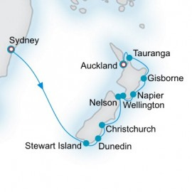 New Zealand Explorer Crystal Cruises Cruise
